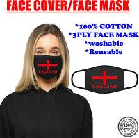 England Flag Face Mask Union Jack Flag of Great Britain English British Flag