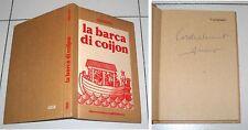 ARCANO La barca di coijon - Meravigli 1984 con AUTOGRAFO firma Dialetto Milano