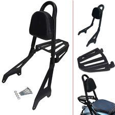 Backrest Sissy Bar Pad Luggage Rack For Yamaha Star Bolt XV950 XVS950 2014-2017