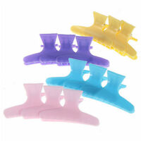 12Pcs Hair Clips Plastic Colorful Hair Claw Hairdressing Tool Styling Tools