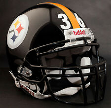 JEROME BETTIS Edition PITTSBURGH STEELERS Riddell REPLICA Football Helmet