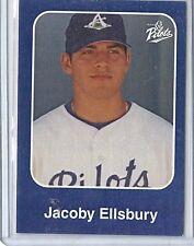 2003 Anchorage Glacier Pilots Jacoby Ellsbury Rc # 11 Extremely Rare