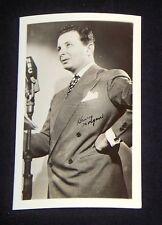 Henry Morgan 1940's 1950's Actor's Penny Arcade Photo Card