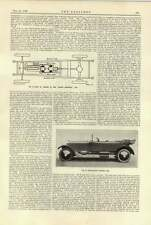 1920 Rolls-royce Touring Car Crown Magnetic Chassis Plan