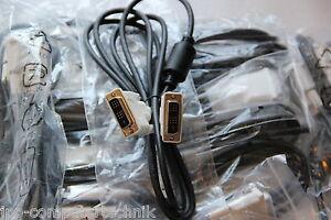 10 Stück LOT DVI Kabel Monitorkabel Anschlusskabel für TFT LCD LED Monitor