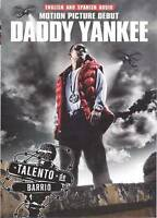 Daddy Yankee - Talento de Barrio - DVD - With English Audio New Fast Shipping