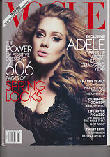 VOGUE MAG. MARCH 2012, THE POWER OF POSITIVE DRESSING 606 PAGES OF SPRING LOOKS