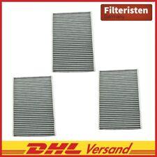 3x Original Filteristen Innenraumfilter Aktivkohle  Skoda Citigo, VW Load UP 121