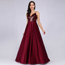 Ever-Pretty US Formal Holiday Long V-Neck Evening Celebrity Gown Prom Dress 7859
