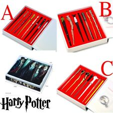 7pcs Harry Potter Hermione Dumbledore Sirius Voldemort Fleur Magic Wands In Box