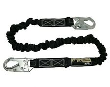Afp New Fall Protection Safety Lanyard 6 Internal Shock Absorbing With Snap Hook