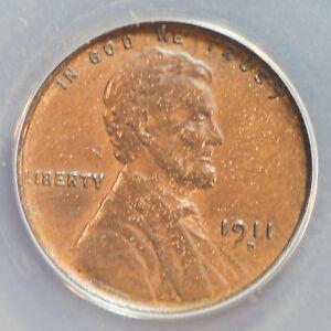 1911-D 1C BN Lincoln Cent **AU50**