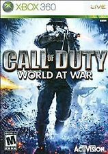 Call of Duty: World at War (Microsoft Xbox 360, 2008)