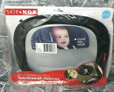 Skip*Hop Style Driven Backseat Mirror - Black Faux Leather New! Free Shipping