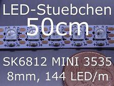 SK6812 MINI 3535 RGB Stripe, 144 LED/m, 8mm