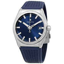 Zenith Defy Classic Automatic Blue Dial Titanium Men's Watch 95.9000.670/51.R790
