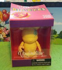 "Disney Vinylmation 3"" Park Set 1 Big Eyes Tinker Bell with Box & Card"