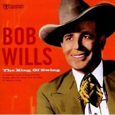"Bob Wills ""The King of Swing"" CD NUOVO"