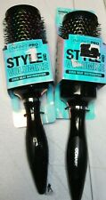 2 Lot Conair 86709 Infiniti PRO Rainbow Ceramic Style & Volumize  Hair Brush