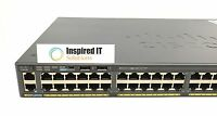 WS-C2960X-48TS-L - Cisco Catalyst 2960X 48 GigE, 4 x 1G SFP, LAN Base *FAST SHIP