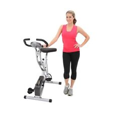 Exercise Folding Magnetic Upright Bike with Pulse Home Health And Fitness Office