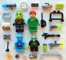 NEW LEGO SPACE FAMILY MINIFIG LOT 4 figures minifigures alien people sci-fi figs