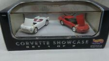 Hot Wheels Forty-fifth Corvette anniversary Showcase '53 Corvette '82 Stinger