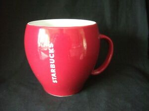 Red STARBUCKS Coffee Mug
