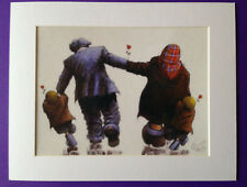 """Alexander Millar ~ Roses Grow On You ~ Art Mounted Picture 14x11"""" FREE P&P"""