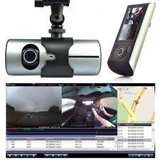 1080P Auto DVR Kamera Videorecorder G-Sensor GPS Dual Objektiv Für Aufzeichnung