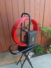 100' Sewer snake pipe drain cleaner video inspection camera system