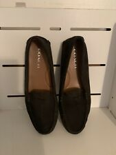 coach shoes black loafers 8