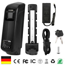 Pedelec E-Bike Akku 48V 10Ah Elektrofahrrad Li-Ion Batterie mit Ladegerät USB DE