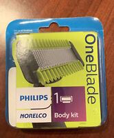New~Philips Norelco OneBlade Body Kit, QP610/80