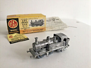 GEM TT GAUGE KIT BUILT GW GWR 0-4-2 COLLETT CLASS 1400 TANK LOCOMOTIVE