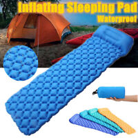 KCASA Self Inflating Mattress Sleeping Mat Hiking Camping Air Bed With Pillow