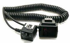 Genuine Nikon SC-29 TTL Enroulé Remote Flash Cord Comme neuf