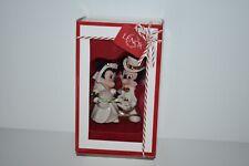 Lenox Disney Mickey Minnie's Dream Wedding Ornament Figure