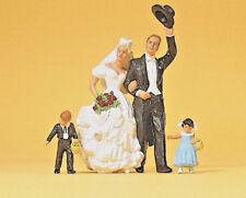 Preiser 45041 - G Figures 1:22,5 - Bride and Groom - New Original Packaging