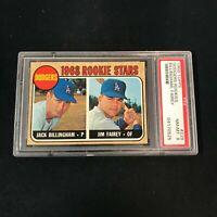 1968 Topps #228 Los Angeles Dodgers Rookie Stars Jack Billingham PSA 8 *SC3-525