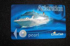 Costa Atlantica ( Pearl Status ) Bordkarte Schlüsselkarte Türkarte Kabinenkarte