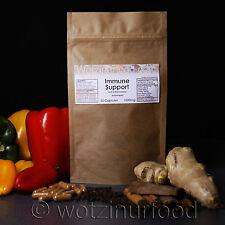 Immune Support Paprika Ginger Cinnamon Turmeric Vitamin C Capsules 1000mg Kraft