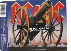 AC DC - Big Gun (3 Track Maxi CD)