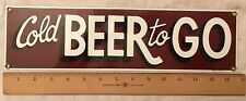 New listing beer sign