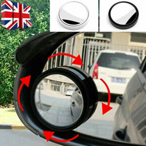 Car Adjustable Blind Spot Mirror for clear side HD Glass Wing Rear View External