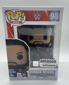 FUNKO POP WWE ROMAN REIGNS EXCLUSIVE FIGURE 98 WRECK EVERYONE & LEAVE