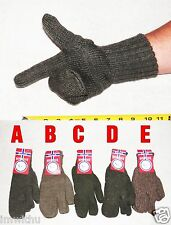 NEW 100% Wool Trigger Mitts Norwegian Military Issue Gloves Mittens Viking Wear
