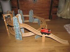 Thomas & Friend's Spiral Elevated Wooden Train Track Set For Brio / ELC Etc