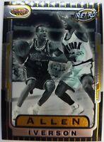 1996 96-97 Bowman's Best 76ers Allen Iverson Rookie RC #TB13, Insert 76ERS