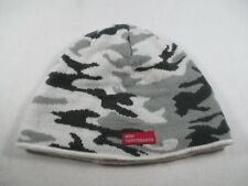 Ride Snowboards Black Gray White Youth One Size Beanie Cap Hat Great Condition
